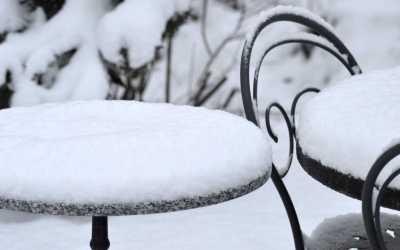 Gartenmöbel winterfest machen: Das Winterquartier optimal aufschlagen