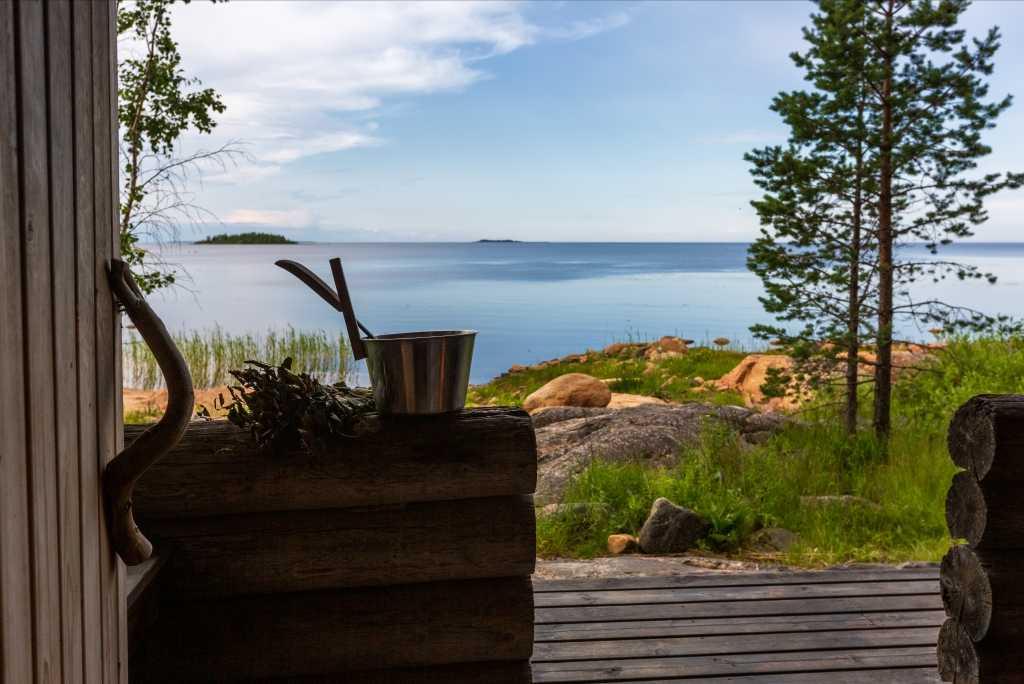 Sauna im Garten Baugenehmigung Hessen: Traumhafte Aussicht