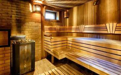 Erholung und Entspannung in der eigenen Sauna