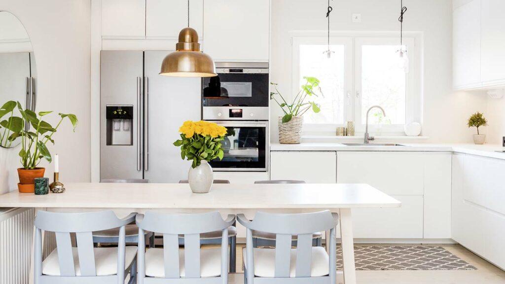 Eine saubere Küche beugt Fliegen vor