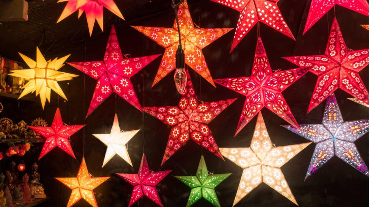 Sterne basteln – Kreativ werden zur Weihnachtszeit