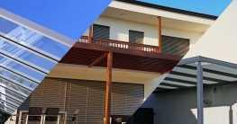 Unterschiedliche Materialien für Terrassenüberdachungen in der Übersicht