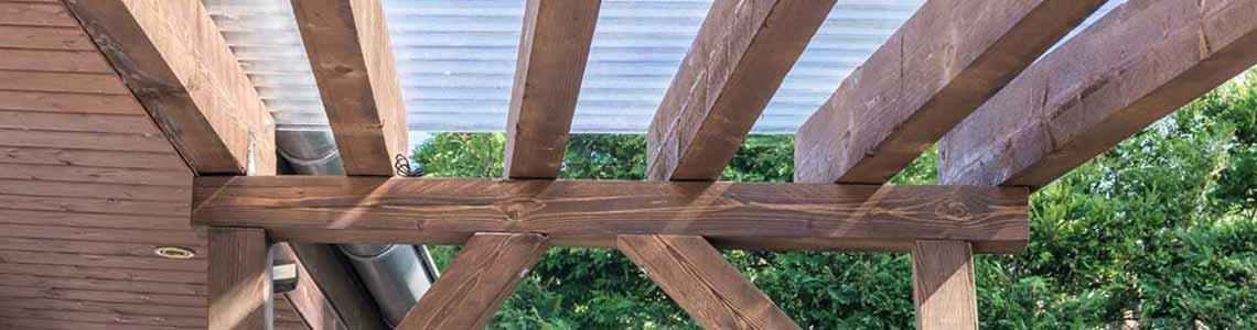 Terrassenüberdachung Holz - Ratgeber 2019
