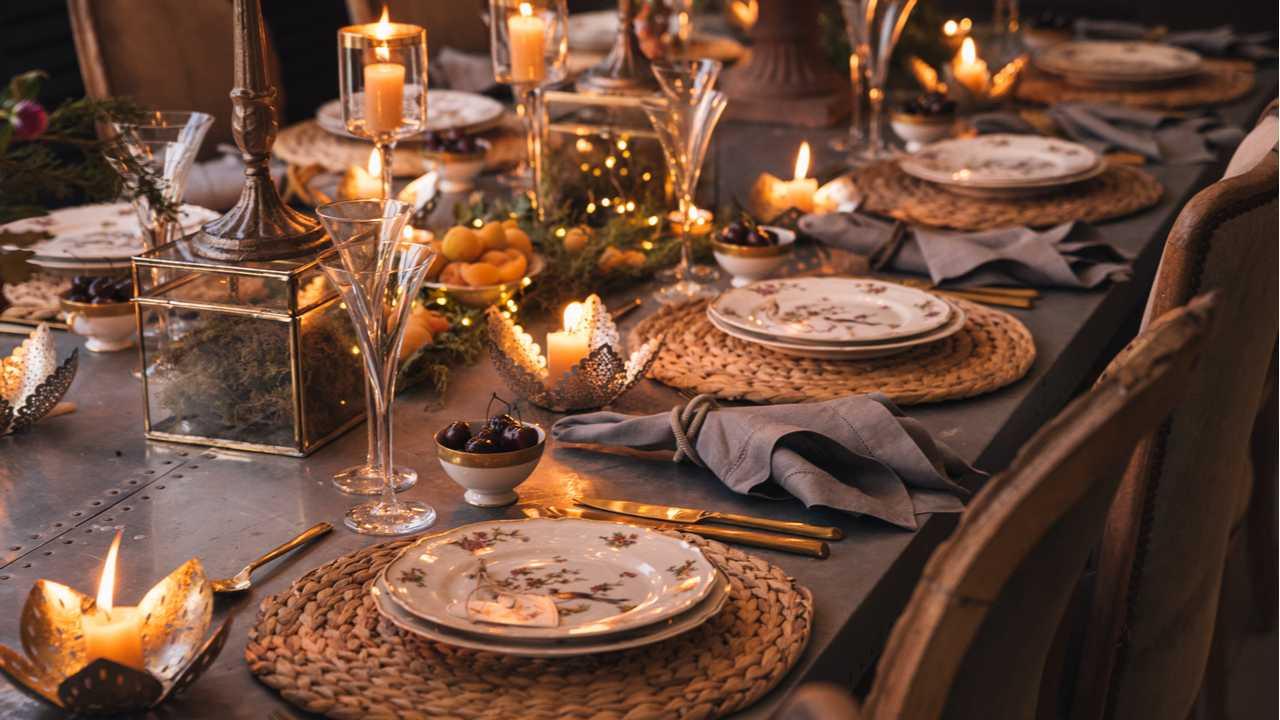 Weihnachtsdeko für den Tisch: Festliche Vorfreude