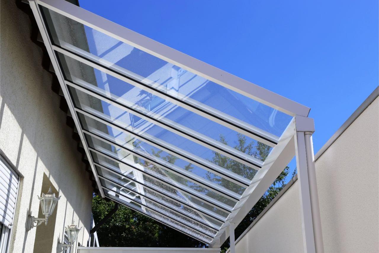 Das richtige Glas ist wichtig für die Terrassenüberdachung Glas