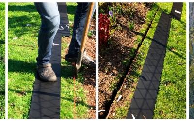 Die perfekte Rasenkante: In 4 Schritten selber machen